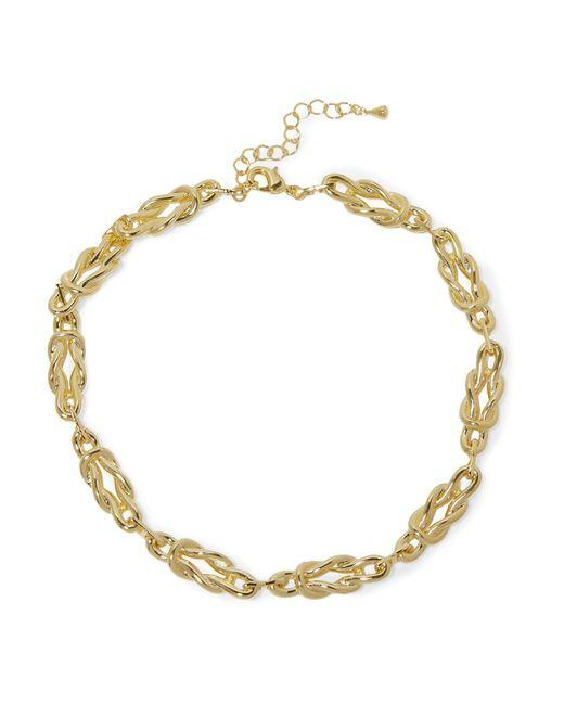 Noir Jewelry - Metallic Necklace - Lyst