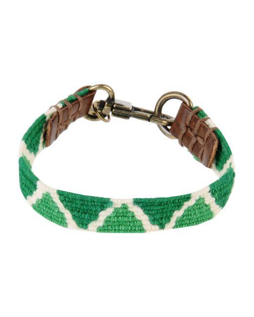 Caputo & Co. | Green Bracelet | Lyst