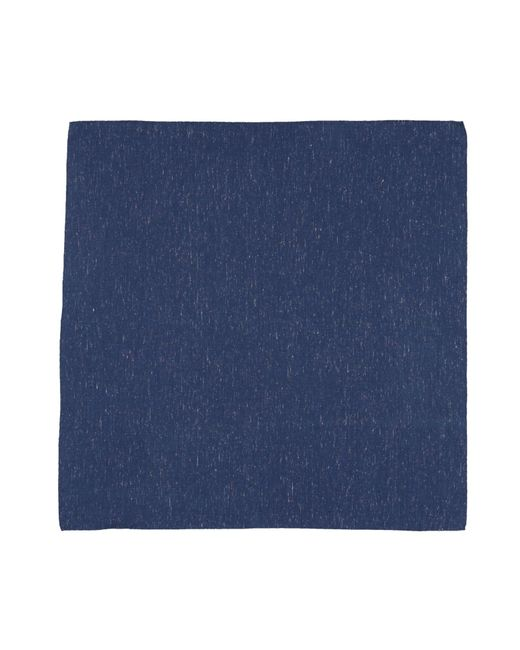 Bevilacqua - Blue Square Scarf for Men - Lyst