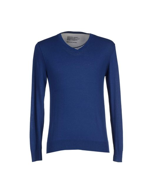 Obvious Basic - Blue Sweater for Men - Lyst