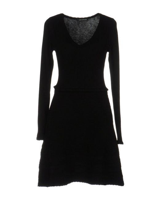 Flavio Castellani - Black Short Dress - Lyst