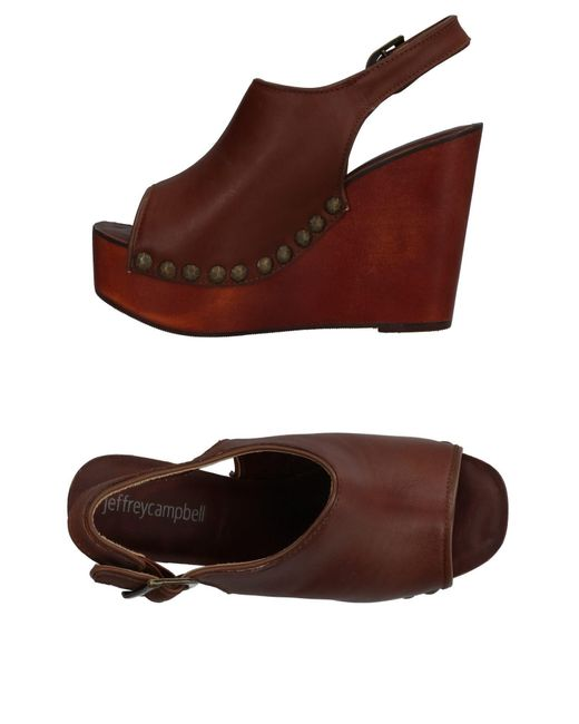 Jeffrey Campbell - Brown Sandals - Lyst