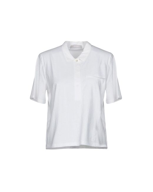 Stefanel - White Polo Shirt - Lyst