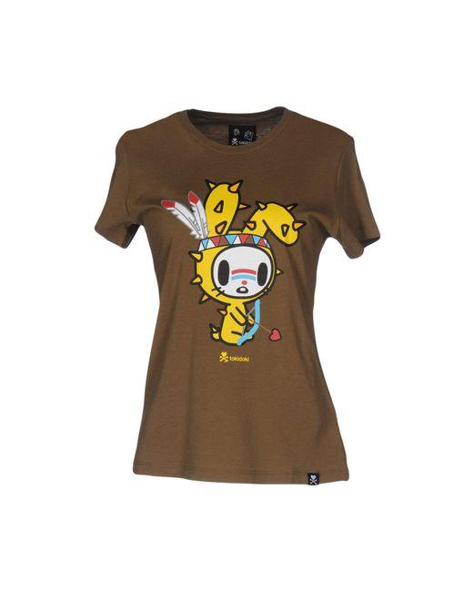 Tokidoki   Green T-shirt   Lyst