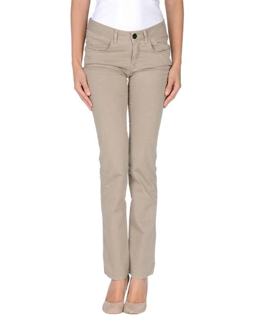 Jeckerson - Natural Casual Pants - Lyst