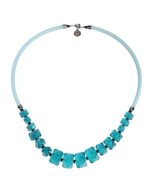 Emporio Armani - Green Necklace for Men - Lyst