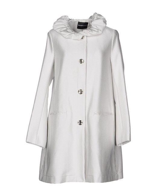 Emporio Armani - White Coat - Lyst