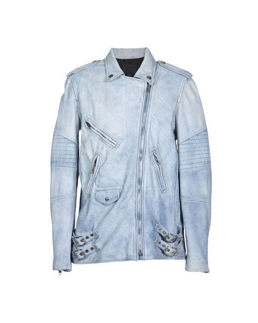 T By Alexander Wang - Blue Jacket - Lyst