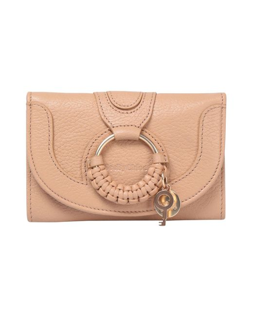 See By Chloé - Natural Brieftasche - Lyst ... 7412dcb2054