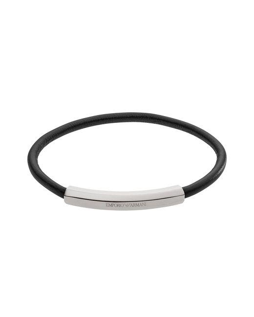 Emporio Armani - Metallic Bracelet for Men - Lyst