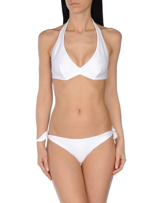 Les Copains - White Bikinis - Lyst