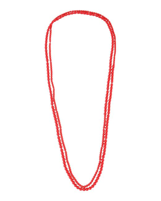 Anna Molinari - Red Necklace - Lyst