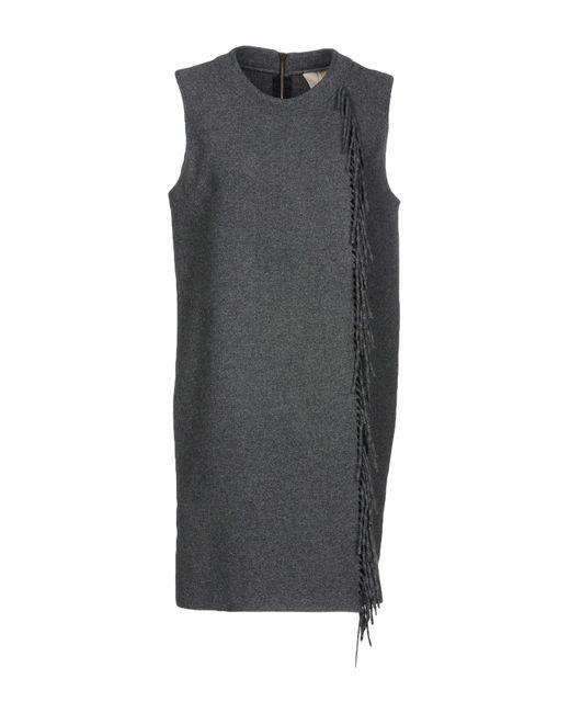 Jo No Fui - Gray Short Dresses - Lyst