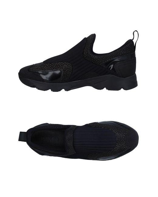 MM6 by Maison Martin Margiela - Black Low-tops & Sneakers for Men - Lyst
