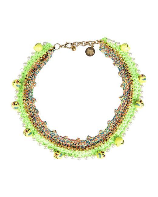 Venessa Arizaga   Green Necklace   Lyst