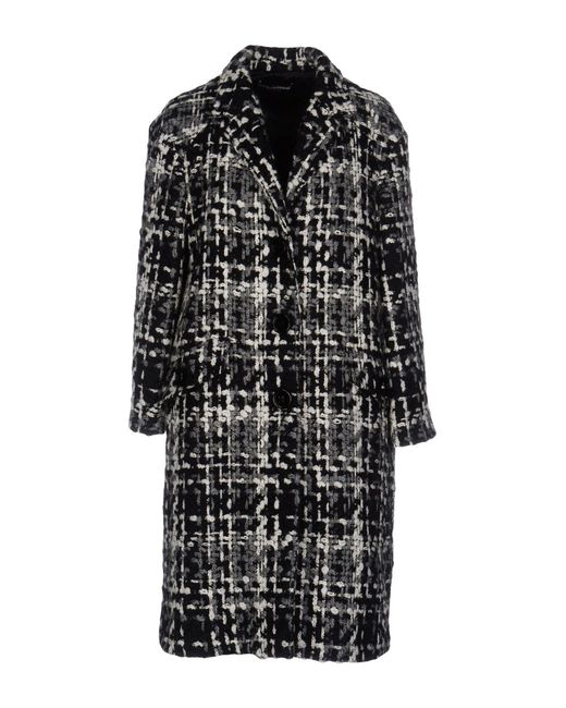 Dolce & Gabbana - Black Coats - Lyst