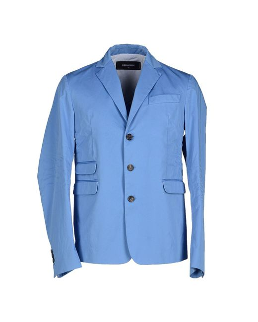 DSquared² - Blue Blazers for Men - Lyst