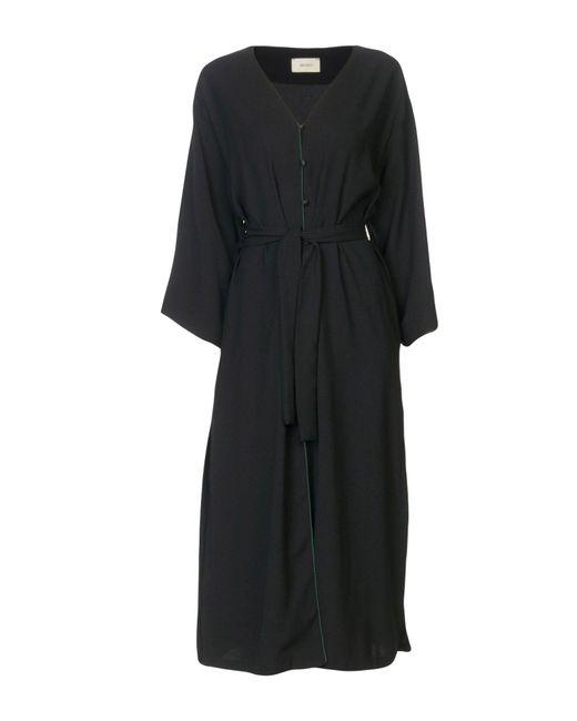 ViCOLO - Black 3/4 Length Dress - Lyst