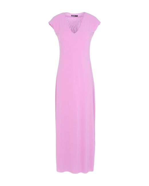 Almeria - Pink Long Dress - Lyst
