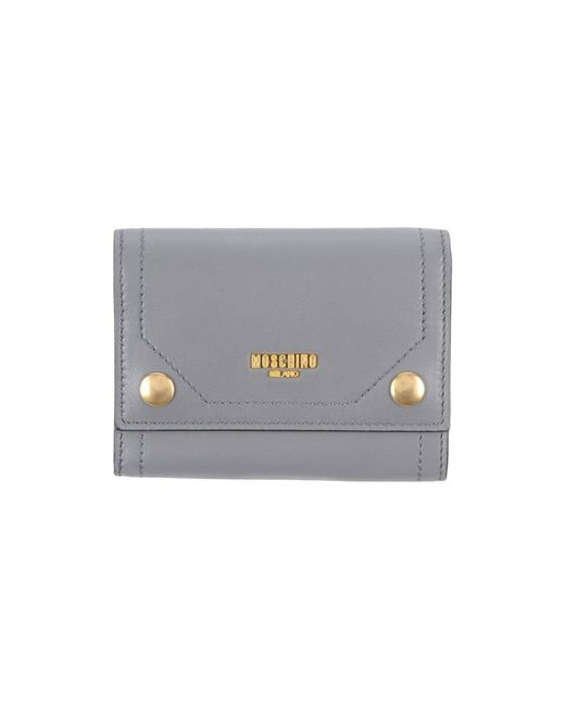 Moschino - Gray Coin Purse - Lyst