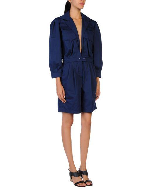 Sonia Rykiel - Blue Jumpsuits - Lyst