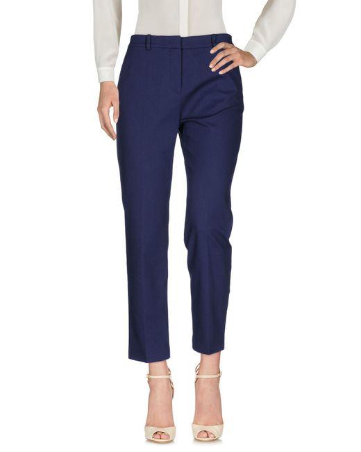 Mantu - Blue Casual Pants - Lyst