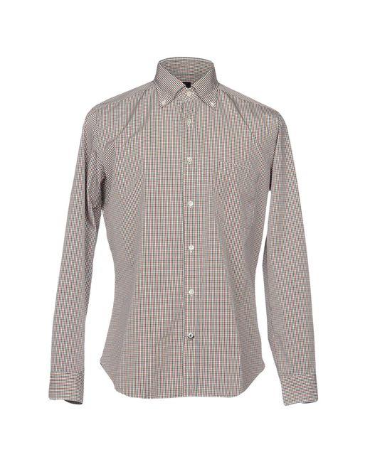 Truzzi - Blue Shirts for Men - Lyst