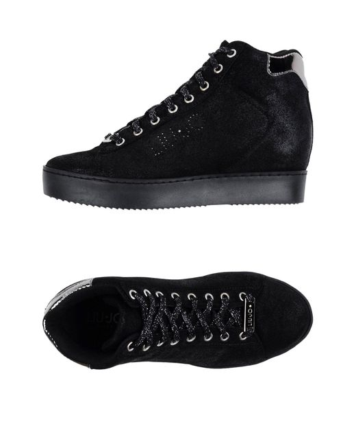 Liu Jo | Black High-tops & Sneakers | Lyst