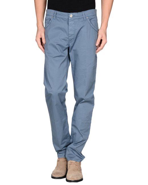 Re-hash - Blue Casual Pants for Men - Lyst