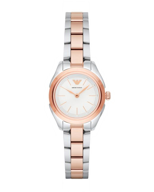Emporio Armani - White Wrist Watch - Lyst