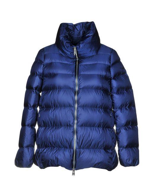 Add - Blue Down Jacket - Lyst