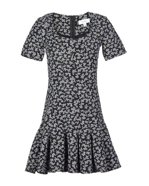 Carven - Black Short Dress - Lyst