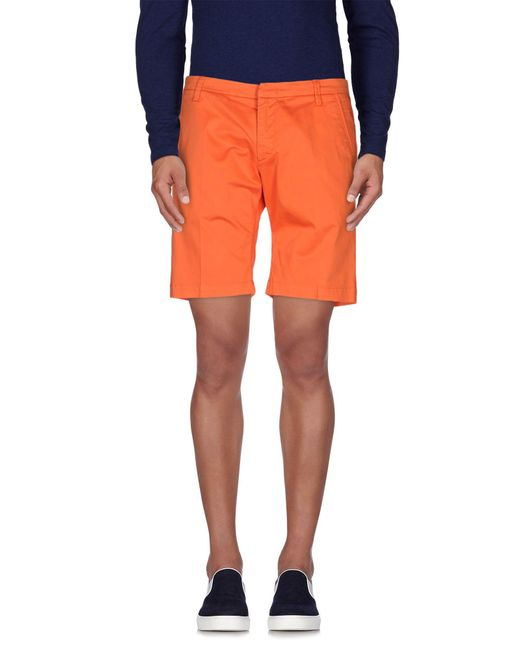 Michael Coal | Black Bermuda Shorts for Men | Lyst
