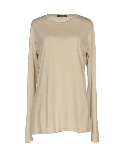 Snobby Sheep - Natural T-shirt - Lyst