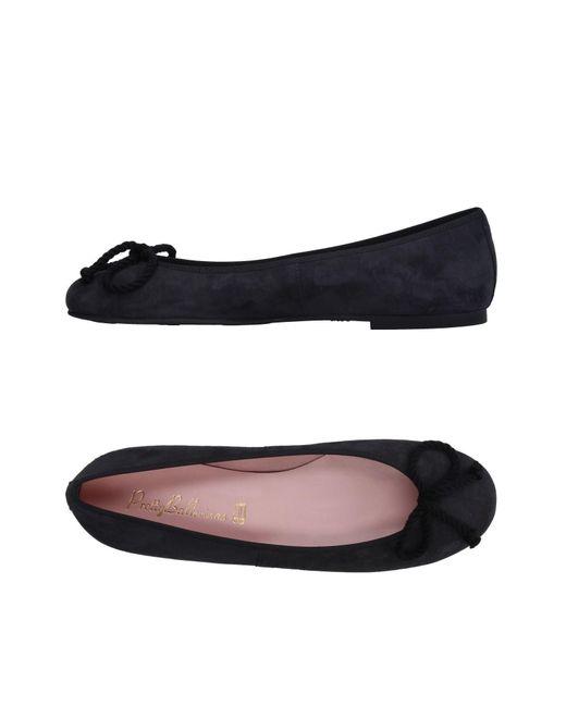 Pretty Ballerinas - Black Ballet Flats - Lyst