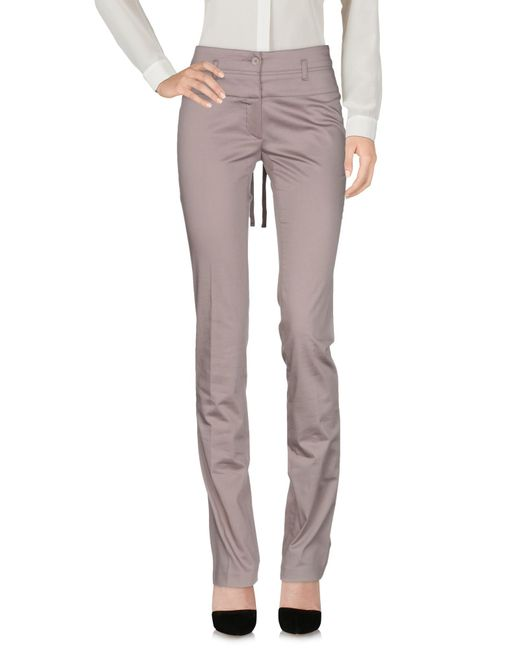 Guess - Gray Casual Pants - Lyst