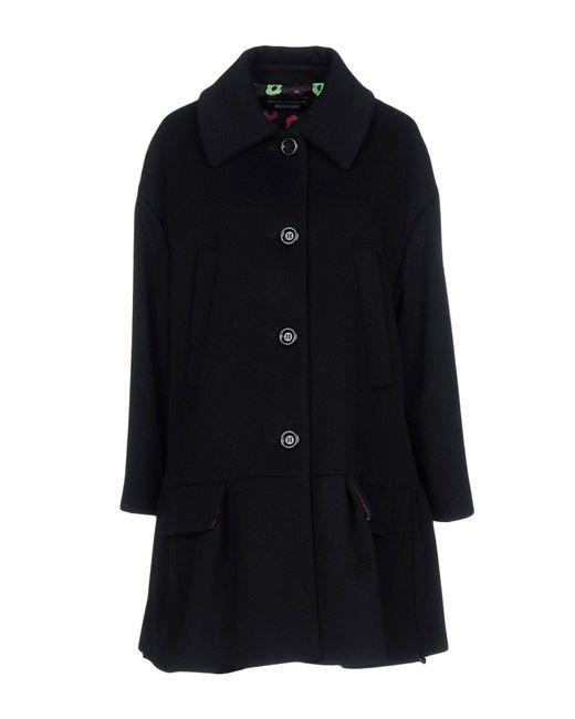 Boutique Moschino - Black Coat - Lyst