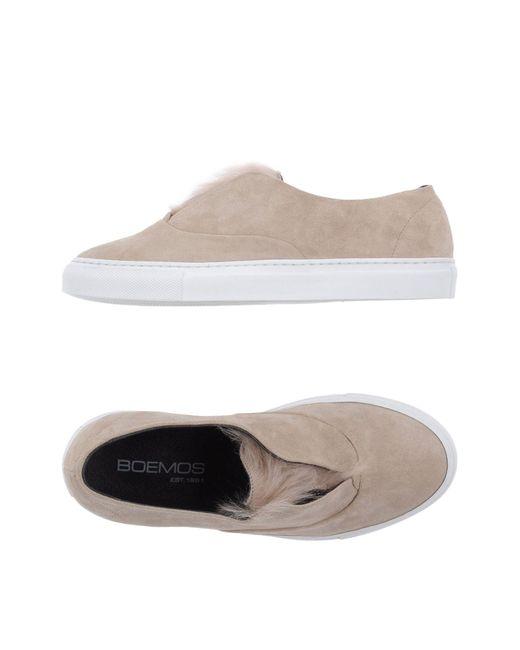 Boemos - Natural Low-tops & Sneakers - Lyst