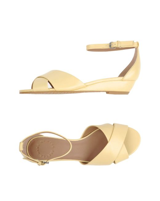 Marc By Marc Jacobs - Yellow Sandals - Lyst