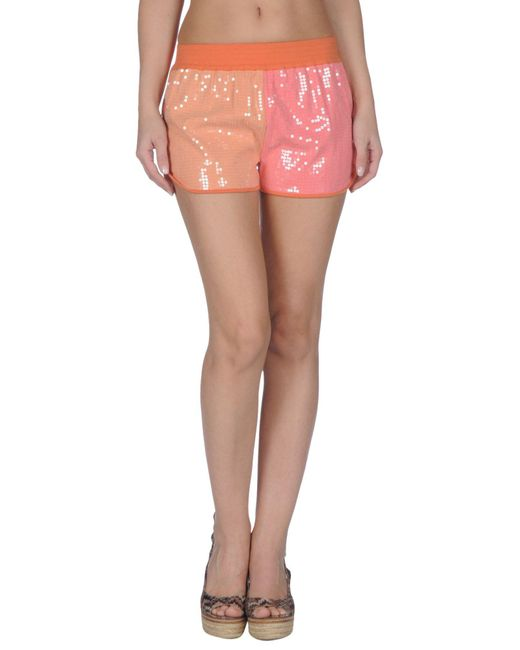 Patrizia Pepe - Orange Beach Shorts And Pants - Lyst