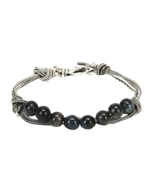 Emanuele Bicocchi - Metallic Bracelets for Men - Lyst