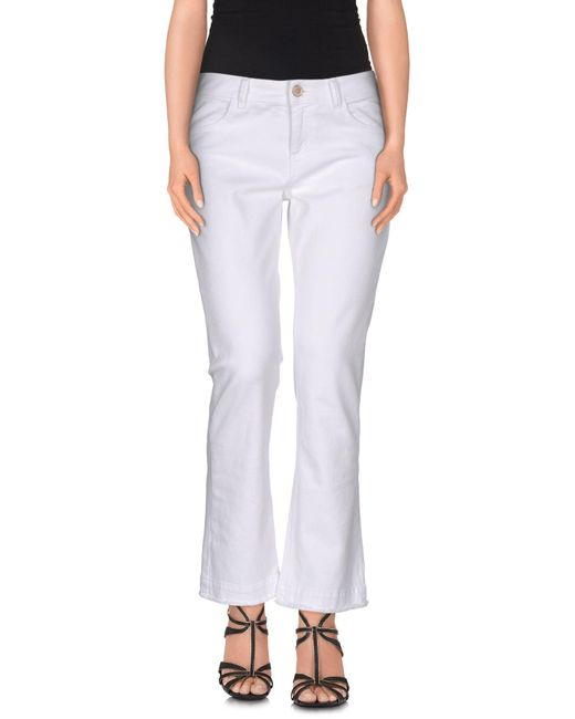 Jucca | White Denim Pants | Lyst