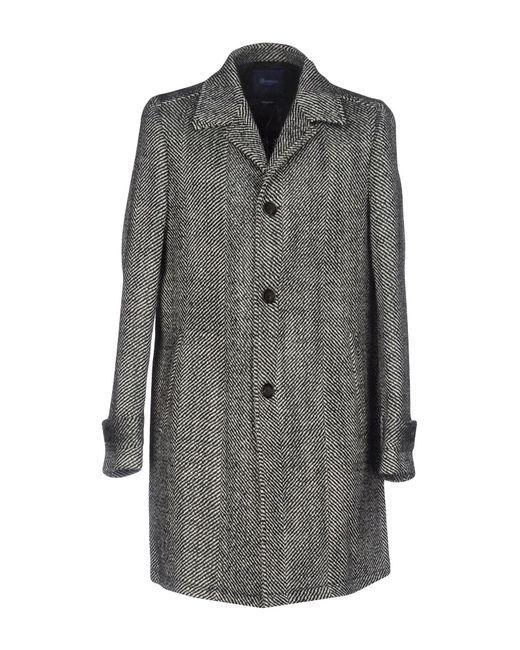Drumohr   Black Coat   Lyst