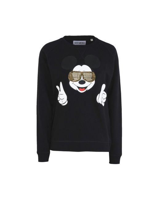 ALVARNO - Black Sweatshirts - Lyst