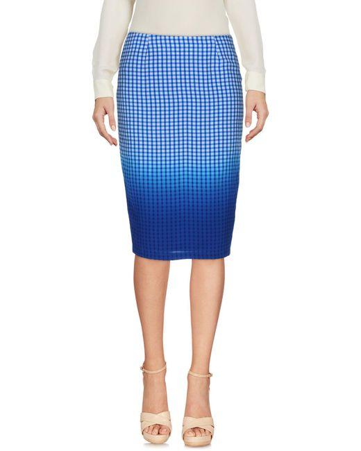 Bailey 44   Blue Knee Length Skirt   Lyst