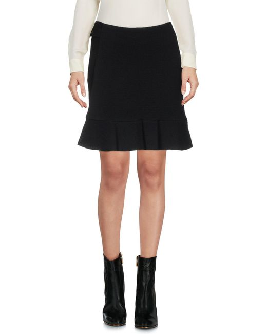 Boutique Moschino - Black Mini Skirt - Lyst