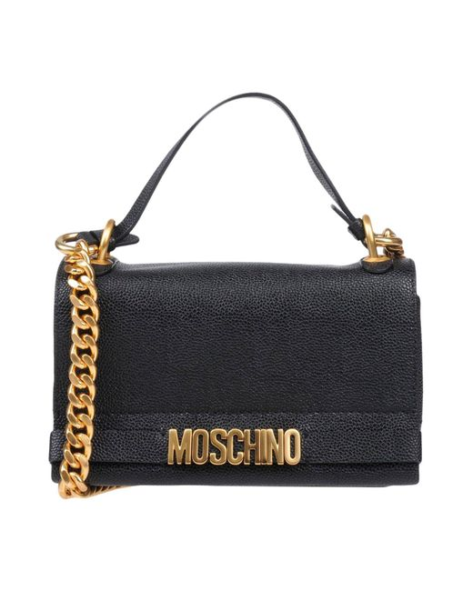 Moschino - Black Cross-body Bag - Lyst