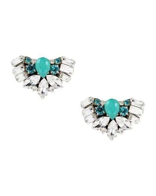 Rada' - Blue Earrings - Lyst