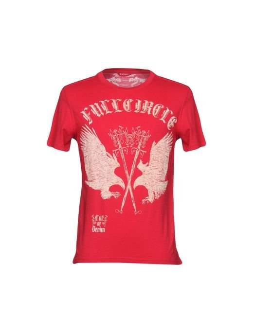Full Circle   Red T-shirts for Men   Lyst
