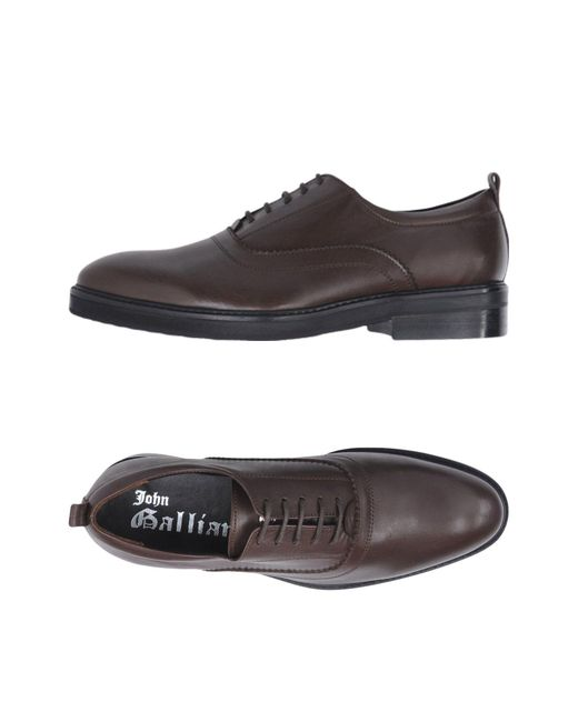 John Galliano - Brown Lace-up Shoes for Men - Lyst